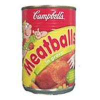 Campbells Meat balls