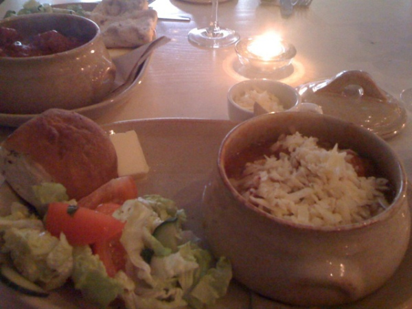 Sicilian Meatballs at Love2Eat Monday Night Supper Club