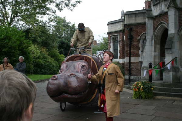 Hieronymous the Hippopotamus, Didsbury Arts Festival