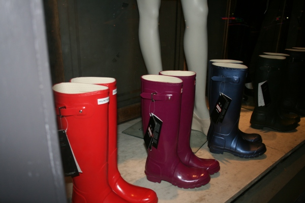 Steranko's New Hunter Wellies Collection