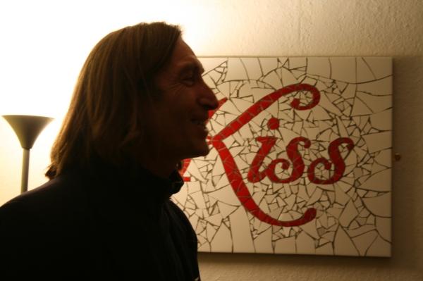 Mike Garry @ Amanda McCrann - Mosaic Artist