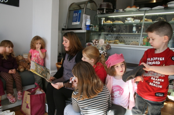 Love2Eat Deli, west Didsbury Story Time