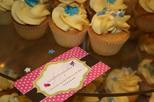 Mini Cupcakes from Didsbury's AiryFairy Cakes