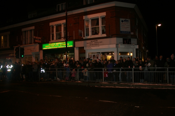 West Didsbury Lights Switch On