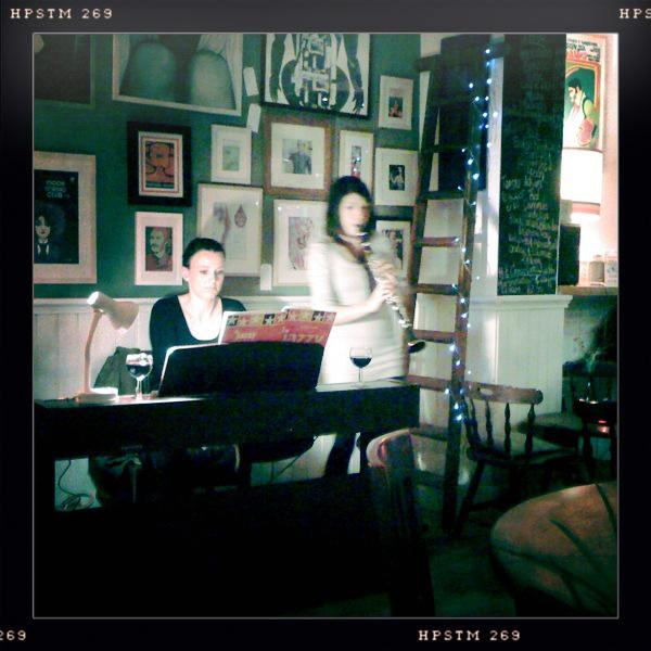 Jazz Carols at Silver Apples, West Didsbury
