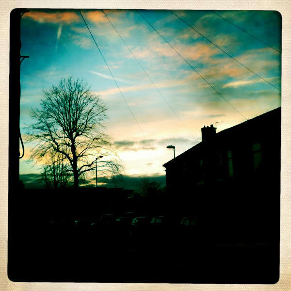 West Didsbury Sunset