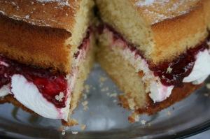 Victoria Sponge Cake - West Didsbury Market