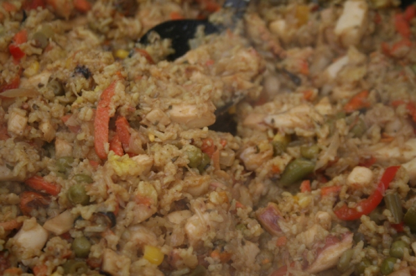West Didsbury Market - Latin Kitchen Seafood Rice