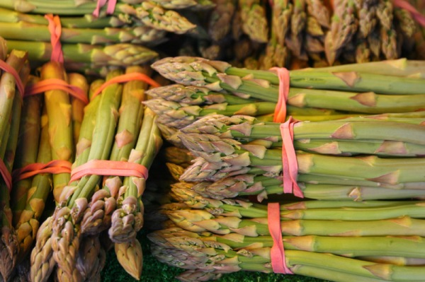 English Asparagus at Didsbury Market