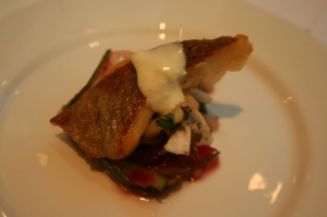 Pan Fried Sea Trout Fillet