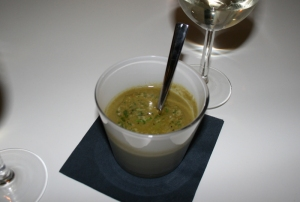 Spring Vegetable Soup at The Rose Garden