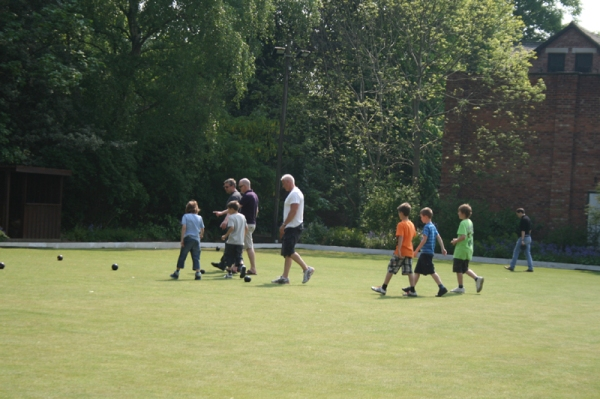 The Boys Go Bowling...