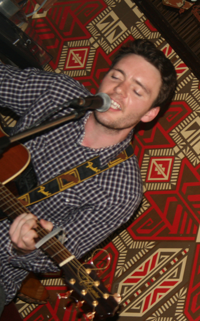 Kurtis Starkie at Folk Cafe Bar