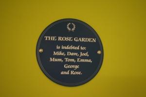 The Rose Garden, West Didsbury