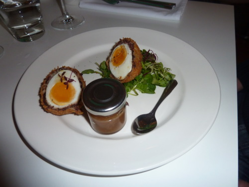 Scotch Egg, Rose Garden style - image courtesy of Deanna Thomas