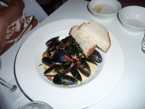 Mussels - The Rose Garden - image courtesy of Deanna Thomas
