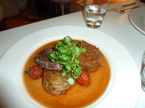 """Two Ways"" Beef - The Rose Garden, West Didsbury - image courtesy of Deanna Thomas"