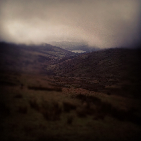 Windermere from Kirkstone Pass...