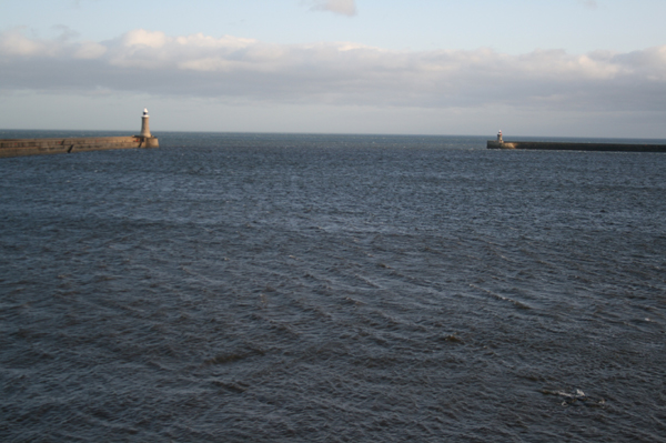 Tynemouth Harbour...