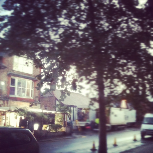 "West Didsbury Filming - ""Love Life"""