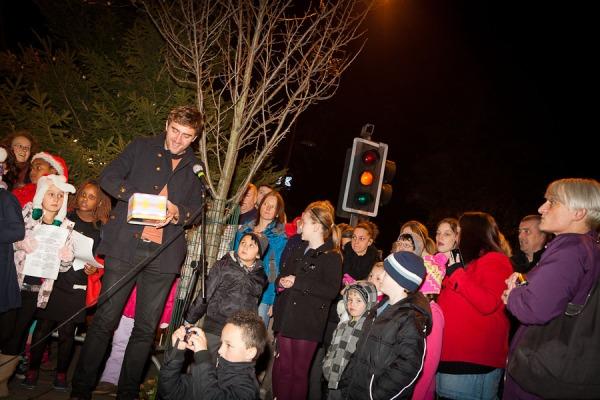 Andrew Steele - LightsFest - West Didsbury Dec 2011 - Jonny Draper Photography