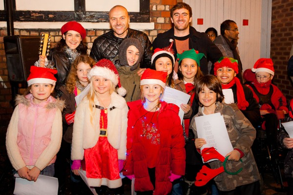 Simon, Andrew & the West Didsbury Kids - LightsFest Photography by Jonny Draper