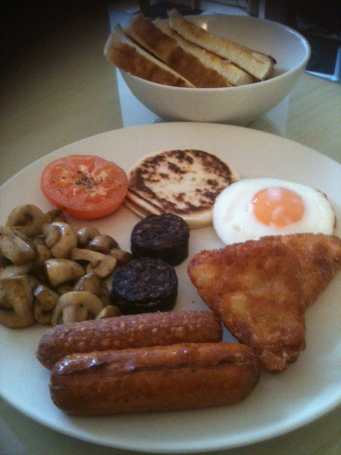 Veggie Breakfast, Burton Rd Bakery, West Didsbury