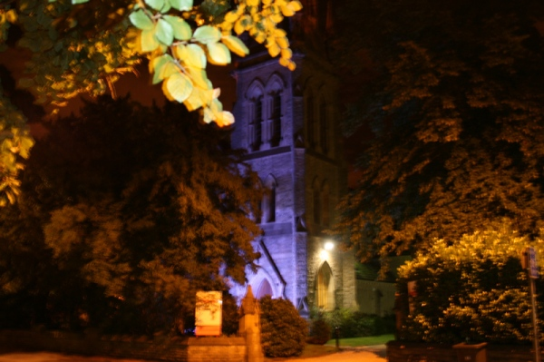 Didsbury At Night
