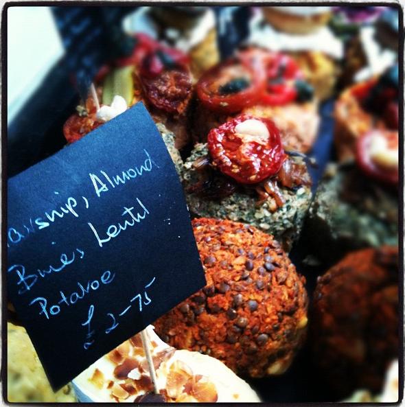 Vegetarian & vegan delights, Wilmslow Artisan Market