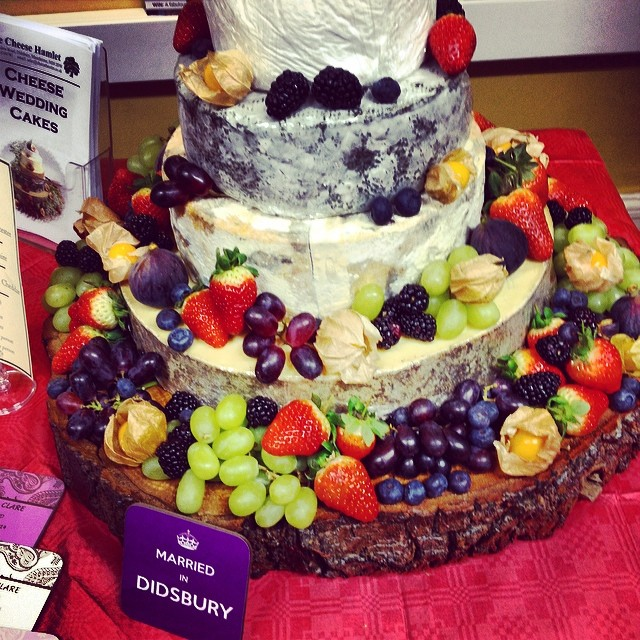 The Cheese Hamlet Wedding Cake